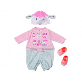 Zestaw ubrnek na co dzień dla lalki Baby Annabell