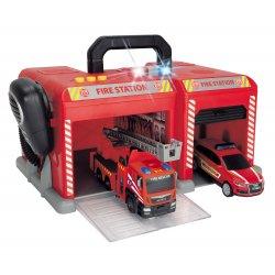 Baza SOS W Walizce Straż Pożarna 2 Pojazdy Światło Dźwięk