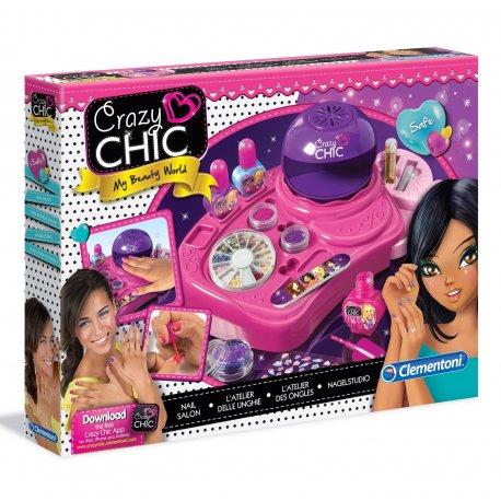 Studio Paznokci Crazy Chic z akcesoriami Clementoni