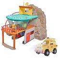 Zestaw Stacja ratownictwa górskiego Strażaka Sama + Jeep Ratunkowy Toms 4x4 z Figurką