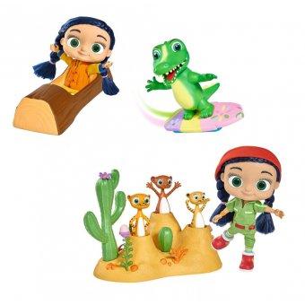 Wissper Świat Wody zestaw Simba Figurka Kev aligator REKLAMA TV + Breloczek Wissper Gratis + Lalka z 3 figurkami Surykatki