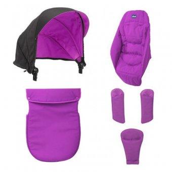Chicco Zestaw Color Pack do wózka Urban Cyclamen Fioletowy