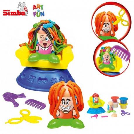 Simba Art&Fun Ciastolina fryzjer