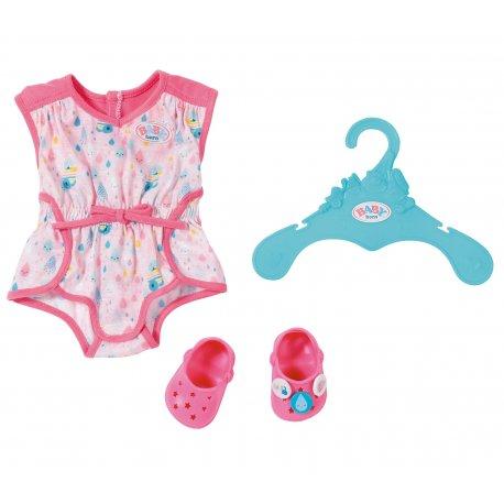 Piżamka z bucikami dla lalki Baby Born