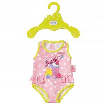 Strój kąpielowy dla lalki Baby Born 43 cm w kropki