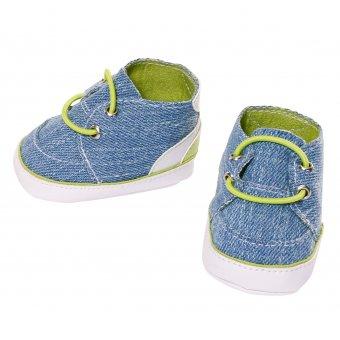 Tenisówki dla lalki Baby Born 43 cm w kolorze niebieskim