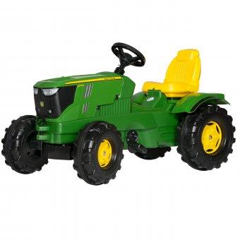John Deere traktor na pedały z cichymi kołami Rolly Toys rollyFarmtrac