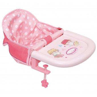 Krzesełko do karmienia dla lalki Baby Annabell 43 cm montowane do stołu