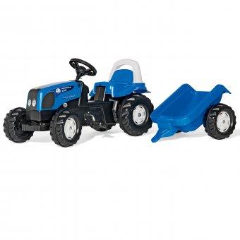 Traktor Kid Landini z przyczepką Rolly Toys