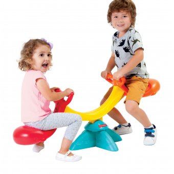 Fisher Price Huśtawka równoważna dla dzieci dwuosobowa + bramka piłkarska gratis