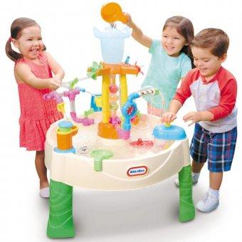 Little Tikes Stół wodny Fabryka Fontann dla dzieci Mega park aktywności