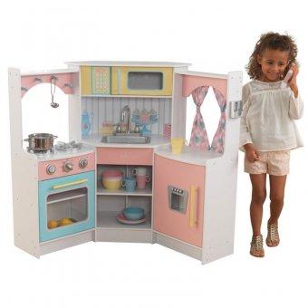 Kidkraft Drewniana kuchnia narożna dla dzieci