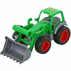 Wader QT Traktor z łyżką na gumowych kołach