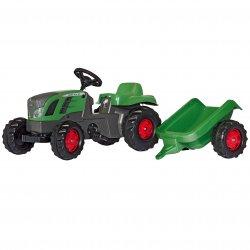 Duży Traktor na Pedały + Przyczepa FENDT - RollyToys rollyKid