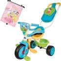 Smoby rowerek trójkołowy ciche koła confort Świnka Peppa + Roletki samochodowe Disney Princess GRATIS!