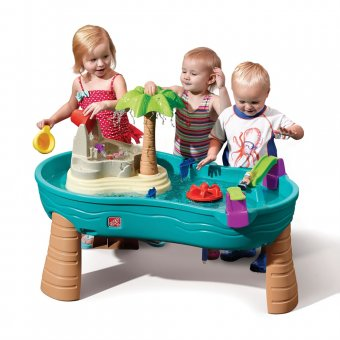 Step2 Stół Wodny z Wyspą i akcesoriami Splish Splash Seas Water Table™