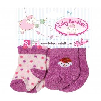 Skarpetki dla lalki Baby Annabell