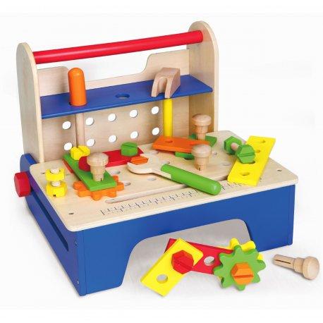 Mały Majsterkowicz 32 elem. skrzynka z narzedziami Viga Toys