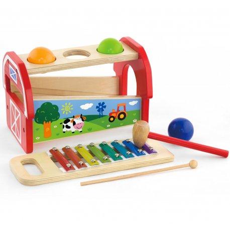Viga Toys zestaw Przybijanka Cymbałki dla dzieci