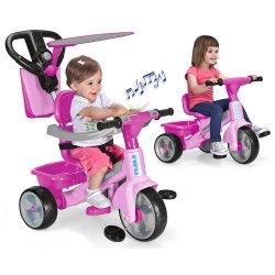 Feber Rowerek trójkołowy 3w1 Baby Plus Music