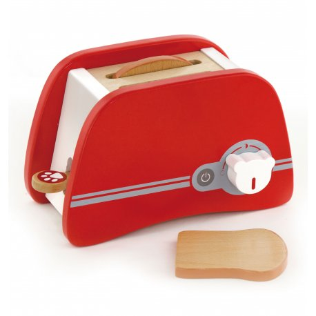 Toster czerwony Drewniany Viga Toys