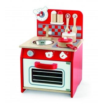 Kuchnia Mini drewniana z akcesoriami Viga Toys
