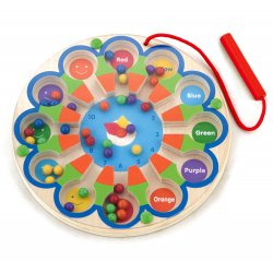 Drewniana Gra magnetyczna Cyferki Viga Toys