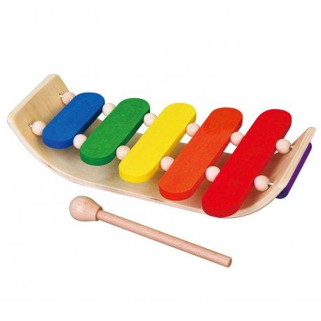 Kolorowe Drewniane Cymbałki Viga Toys