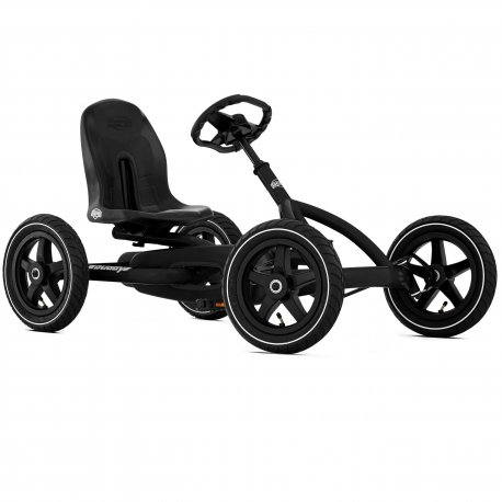 BERG Gokart na pedały Buddy Black Edition