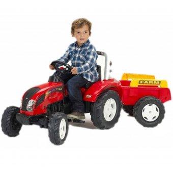 Traktor na pedały Falk Ranch Trac z przyczepką