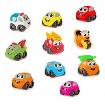 Smoby Zestaw 10 autek Vroom Planet samochodziki