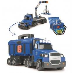 Smoby Duża Ciężarówka z walizką i narzędziami Bob Budowniczy Two Tons