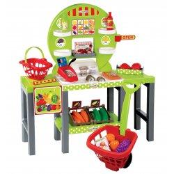 Ecoiffier Sklep z warzywami i owocami 34 akcesoria
