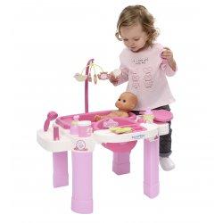 Opiekunka Ecoiffier krzesełko do karmienia dla lalki Przewijak