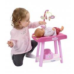 Opiekunka 3 w 1 przewijak Krzesełko Do Karmienia wanienka Ecoiffier