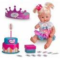 Nenuco Lalka Urodzinowa Happy Birthday z Tortem i akcesoriami 30 cm