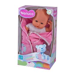 Nenuco Lalka New born Niemowlę 35cm z dźwiękami