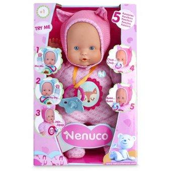 Nenuco Pachnąca Interaktywna Lalka Różowa 30 cm