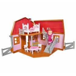 Simba Masza i Niedźwiedź Dwupoziomowy dom Maszy z akcesoriami