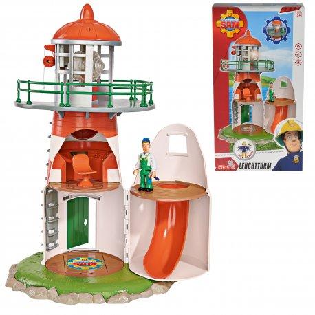 Simba Strażak sam latarnia Morska + Figurka