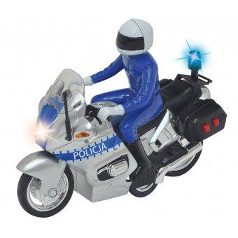 Motor Policyjny dla dziecka Dickie SOS Światło Dźwięk