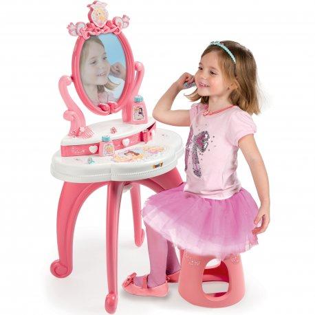 Toaletka 2 w 1 z krzesełkiem Smoby Disney Princess lustro