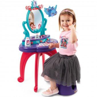 Toaletka 2 w 1 Enchantimals bezpieczne lustro Smoby + taboret