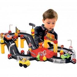 Ecoiffier Abrick Tor Wyścigowy 3 Auta Samochody