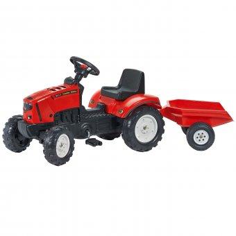 Lander Z160X Traktor na pedały z przyczepą FALK
