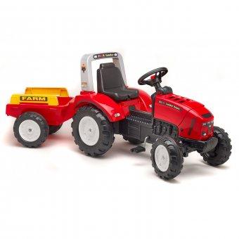 Lander Z240X Traktor na pedały z przyczepą Falk