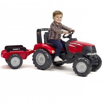 Case Puma 240CVX Traktor na pedały z przyczepą FALK