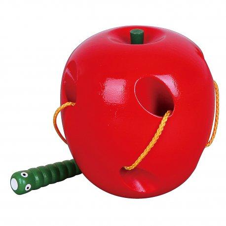 VIGA Przeplatanka Robaczek w jabłuszku labirynt