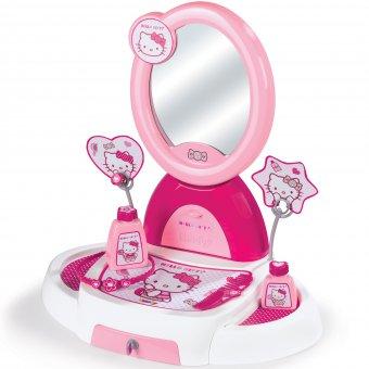 Toaletka kącik piękności Smoby lustro 5 akc.