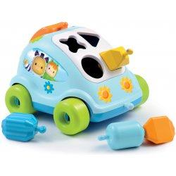 Smoby Cotoons Samochód z Klockami Sorter niebieski